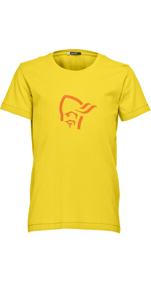 Norrøna Junior /29 Cotton Logo T-Shirt Mellow Yellow